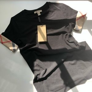 Burberry Stretchy Short Sleeved Tee